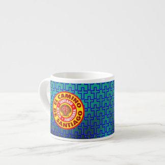 El Camino de Santiago Espresso Mug