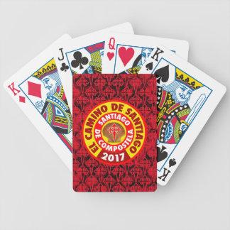 El Camino Santiago 2017 Bicycle Playing Cards