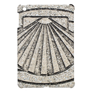 El Camino shell, pavement, Spain Case For The iPad Mini