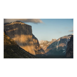 El Capitan Afternoon Glow Poster