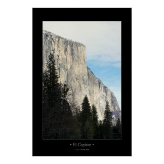 El Capitan (Color) Poster