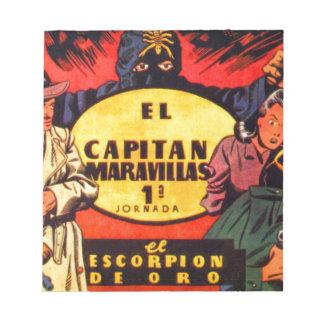 El Capitan Maravellas Notepad