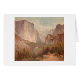 El Capitan, Yosemite, California (0229A) Greeting Card
