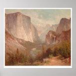 El Capitan, Yosemite, California (0229A) Posters