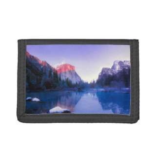 El Capitan, Yosemite California Tri-fold Wallets