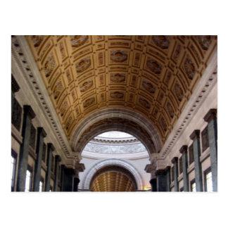 el capitolio salón roof postcard