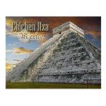 El Castillo at Chichen Itza, Mexico Postcard