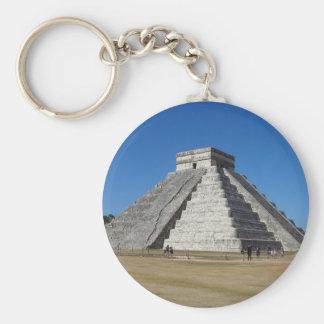El Castillo – Chichen Itza, Mexico #4 Keychain