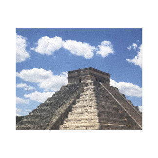 El Castillo – Chichen Itza, Mexico Canvas