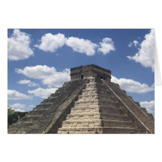 El Castillo – Chichen Itza, Mexico Card