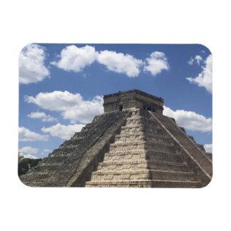 El Castillo – Chichen Itza, Mexico Photo Magnet
