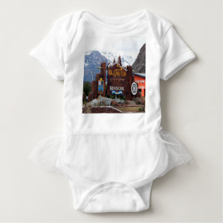 El Chalten, Patagonia, Argentina Baby Bodysuit