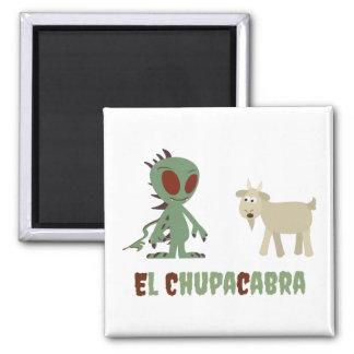 El Chupacabra Magnet