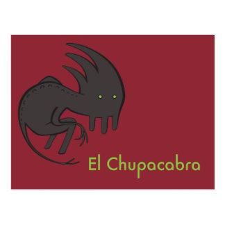 El Chupacabra Postcard