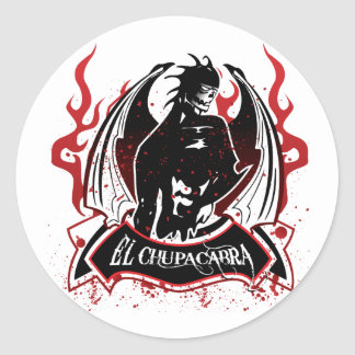 El Chupacabra - The Goat Sucker Classic Round Sticker