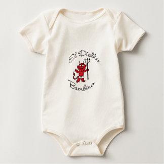 El Diablo Bambino Baby Devil Baby Bodysuit