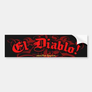 El Diablo Bumper Sticker