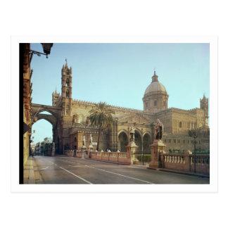 El Duomo, founded by Walter, Archbishop of Palermo Postcard