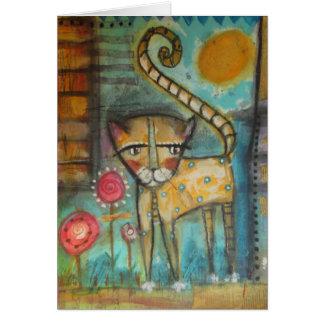 el gato 5 x 7 cards
