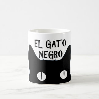 El Gato Negro  - The Black Cat Coffee Mug