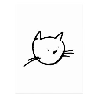 El Gato Postcard