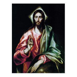 El Greco Art Postcard
