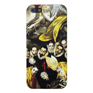 El Greco Burial of Count of Orgaz iPhone 5 Case
