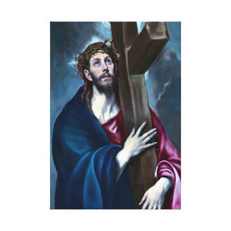 El Greco Christ Carrying the Cross Canvas Print