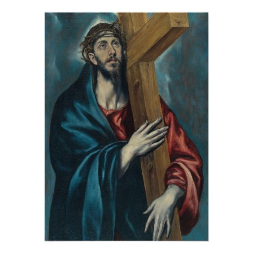 El Greco - Christ Carrying the Cross Invites
