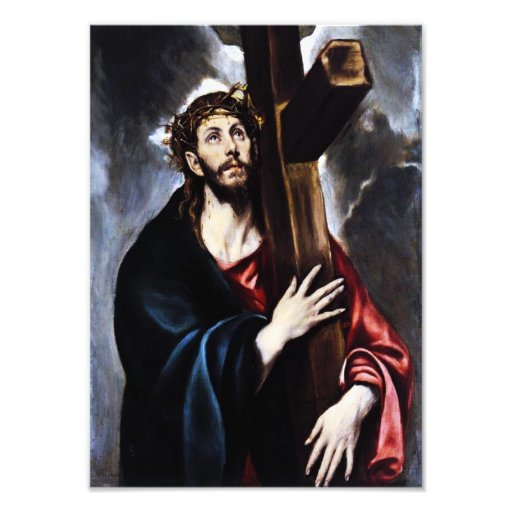 El Greco Christ Carrying The Cross Photo Print