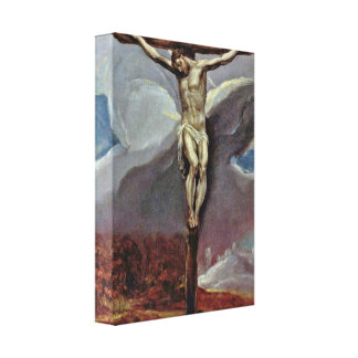 El Greco - Christ on the Cross Canvas Prints