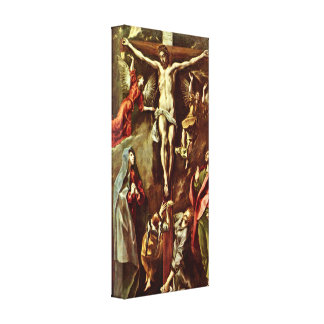 El Greco - Christ on the cross Gallery Wrap Canvas