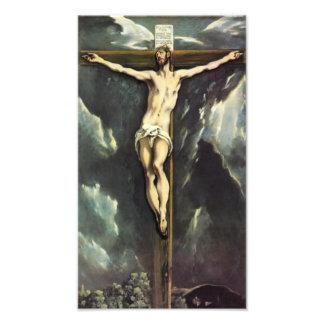 El Greco Christ On The Cross Photo Print