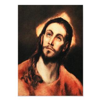 El Greco Jesus Christ Invitations