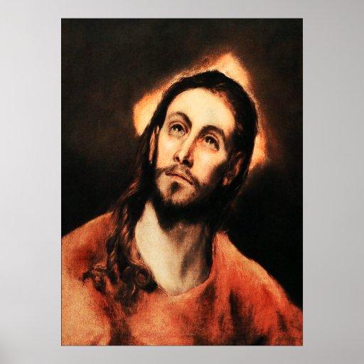 El Greco Jesus Christ Poster