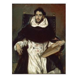 El Greco Portr?t des Fray Hortensio Felix Paravici Postcard