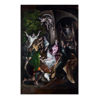 El Greco The Adoration of the Shepherds Poster