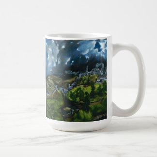 El Greco View of Toledo Coffee Mug