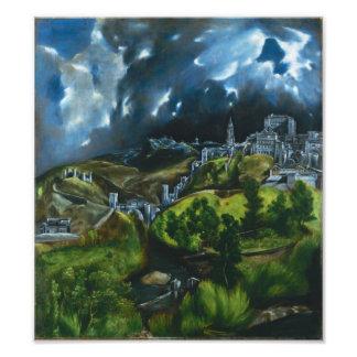 El Greco View of Toledo Photo Print
