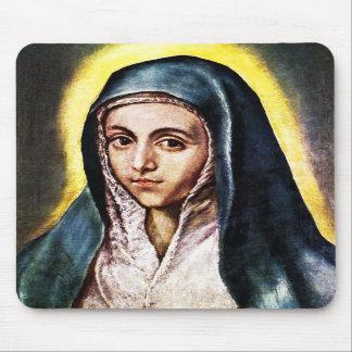 El Greco Virgin Mary Mouse Pad