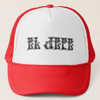 El Jefe logo Liquido Liquid Trucker Hat