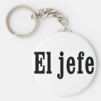 "El jefe ""The Boss"" Key Ring"