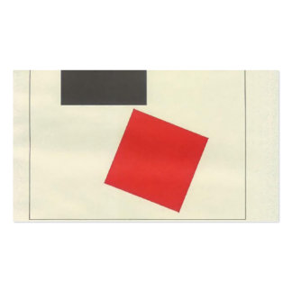 El Lissitzky- Beat all the scattered Business Card