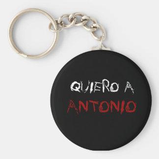 el llavero de antonio basic round button key ring