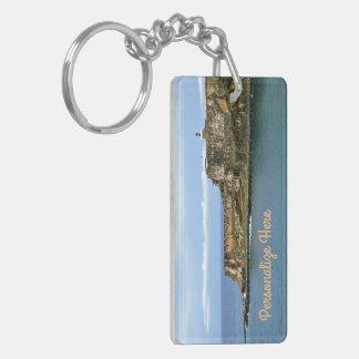 El Morro Guarding San Juan Bay Personalized Key Ring