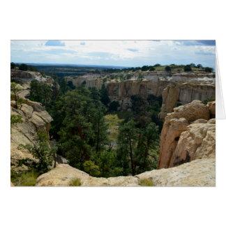 El Morro National Park, New Mexico Card