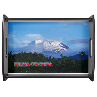 El Nevado del Tolima Serving Tray