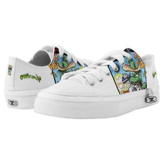 El Nopal Cantavivo Custom Zipz Low Top Shoes