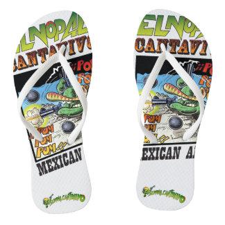 El Nopal Cantavivo Pair of Flip-Flops Thongs