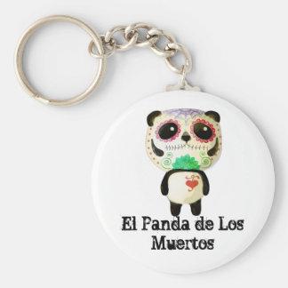 El Panda de Los Muertos Key Chain